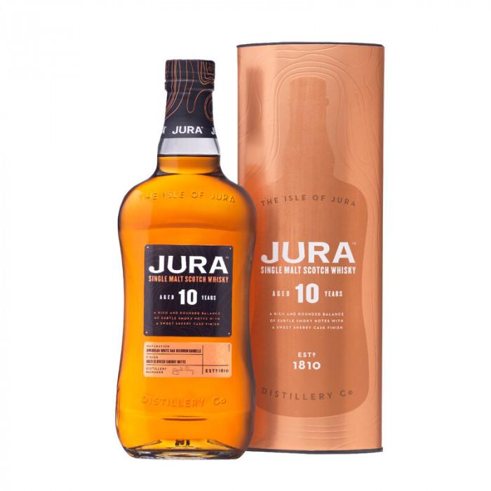 Jura 10 Year Old Single Malt Scotch Whisky, 750 ml