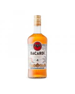 Bacardi Anejo Cuatro Aged 4 Years Rum 750ml