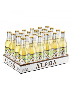 Alpha Dry Cider NRB 24 x 340ml