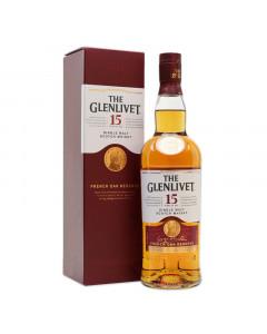 The Glenlivet 15 Year Old Single Malt Scotch 750ml