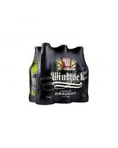 Windhoek Draught NRB 6 x 440ml
