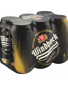 Windhoek Draught Can 6 x 440ml