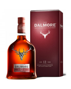 The Dalmore 12 Year Old Highland Single Malt Scotch Whisky, 750 ml