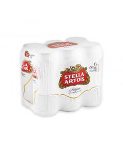 Stella Artois 6 x 500ml Cans Six pack