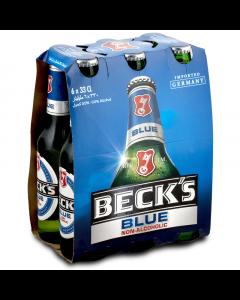 Becks Blue Non Alcoholic NRB 6 X 330ml