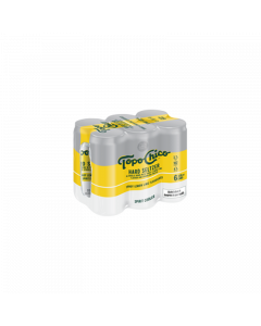 Topo Chico Hard Seltzer Tangy Lemon Lime 6x 330ml