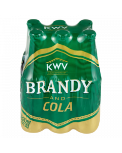 KWV Brandy & Cola (6x275ml)