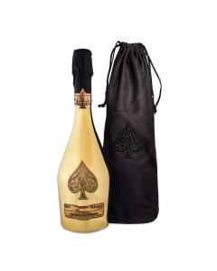 Armand De Brignac Gold Brut Champagne 750ml in Velvet Bag